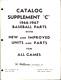 1967 Williams Catalog Supplement C