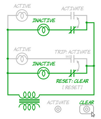 Resetting the interlock relay switch