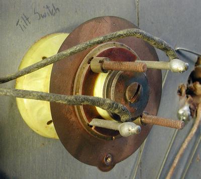 Bumper as a Tilt switch