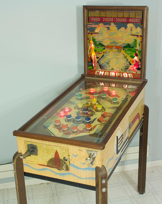 Bally Champion right side
