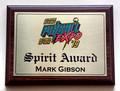 Pinball Expo Spirit Award