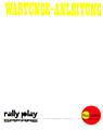Rally German Instruction Book