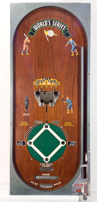 Playfield with the Wooden Frame