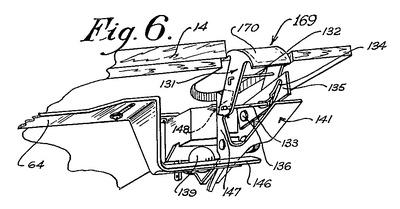 Tilt Mechanism Patent Drawing