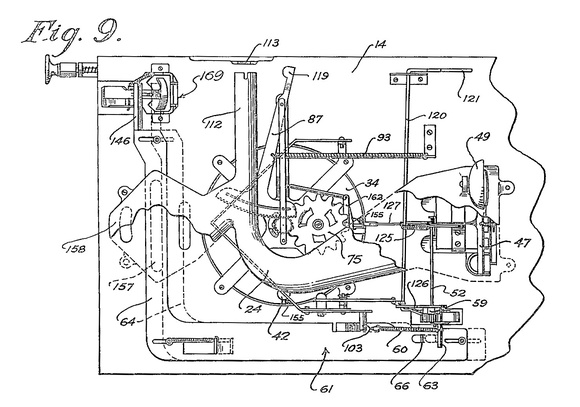 Patent Illustration of Playfield from below