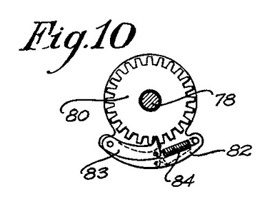 Patent Illustration of the Pinion and Base Control