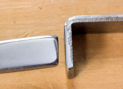 Polished Field Stop (right) and Field Stop Bumper (left)