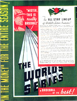 World Series Advertising Flyer