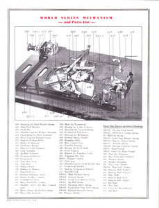 World's Series Parts List