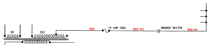 RED, RED-YEL and RED-WH wire example