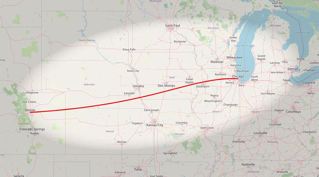 Denver Chicago road trip