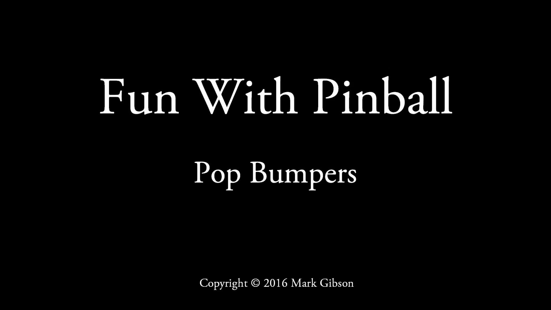 Zenfolio | Fun With Pinball | Small Boards